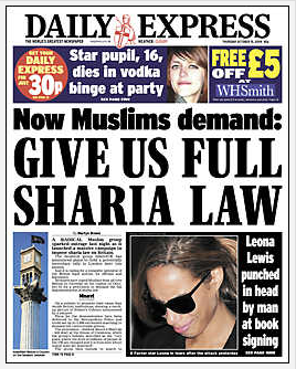 Coming to America: Sharia in Britain and its 17,000 'Honor' Attacks on Women A Year