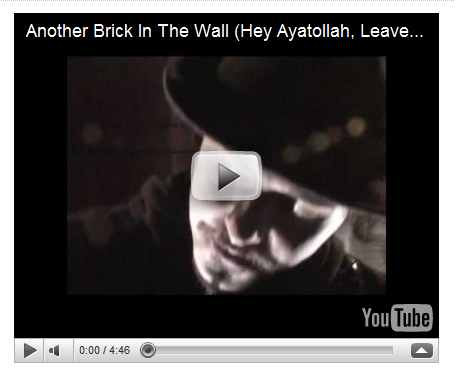 Hey Ayatollah, Leave Those Kids Alone!