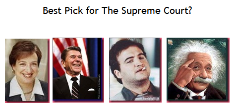 Best Pick for The Supreme Court?