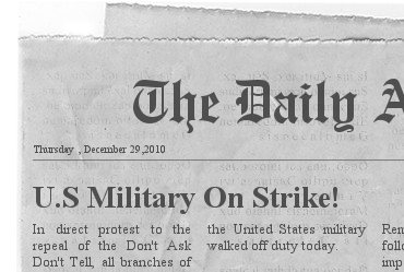 It's Time for the Military to Go On Strike
