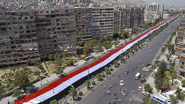 GiantSyrian Flag