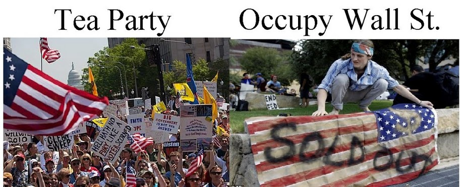 occupy wall street and the tea