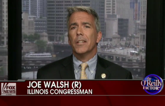 Joe Walsh-R-Illinois: The Real Deal