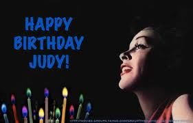 Happy Birthday Judy