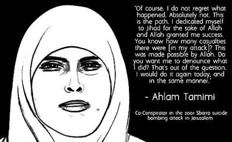 Muslim Woman Terrorist