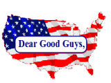 An Open Letter to 'The Good Guys'