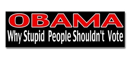Obama-Stupid Voters