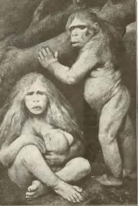 a Caveman family