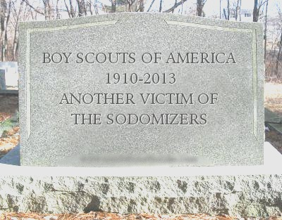 Boy Scouts Tombstone