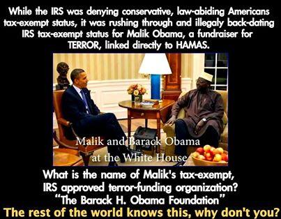 Obama-Malik Tax Exempt