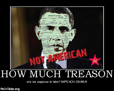 Obama guilty of treason again for Define treacherous