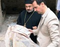 Assad Visits Christian Village