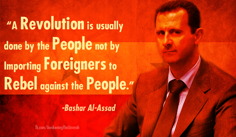 Assad Quote