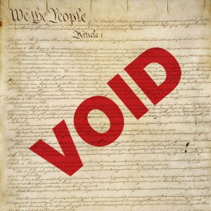 Constitution Void