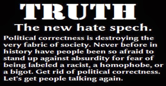 Truth. The new hate speech.