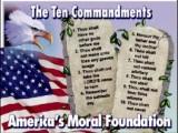 Anti's & The Ten Commandments