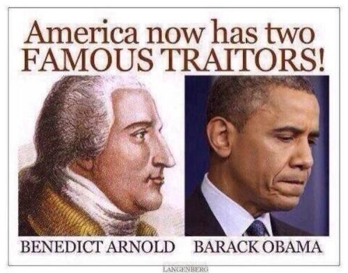 Obama -Traitor