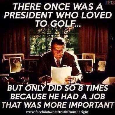 Reagan-Golf