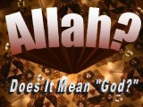 God & Allah aka God and Lucifer